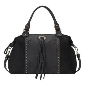 American West Cow Town Large Zip-Top Convertible Satchel