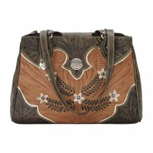 American West Desert Wildflower Multi-Compartment Organizer Tote