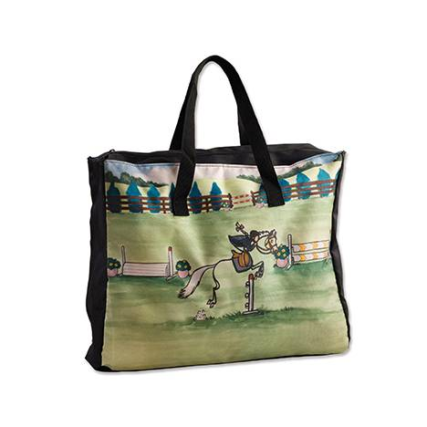 Whimsical Pony Stick Horse Tote