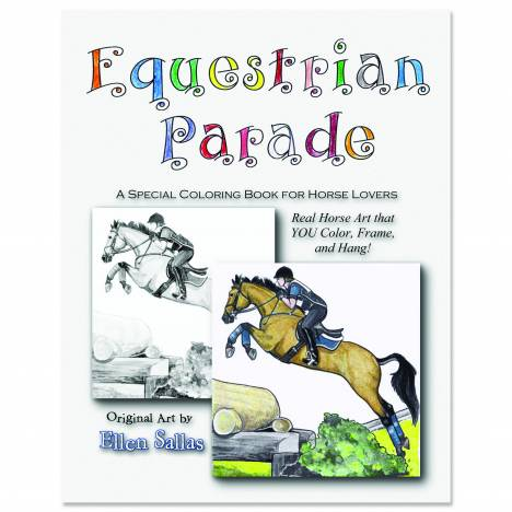 Equestrian Parade Coloring Book