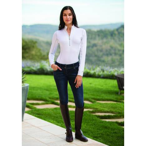 Goode Rider Long Sleeve Ideal Show Shirt- Ladies