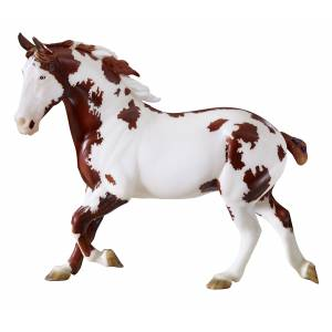 Breyer Traditional Series BHR Bryants Jake - Spotted Draft