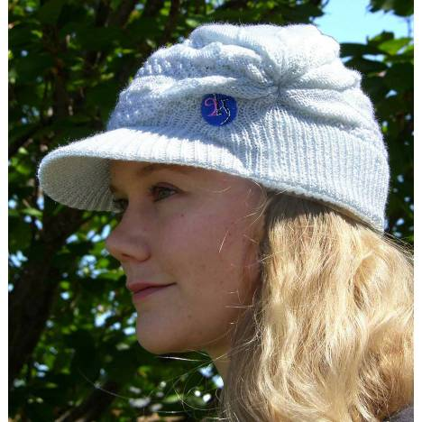 2kGrey Knit Hat - Ladies