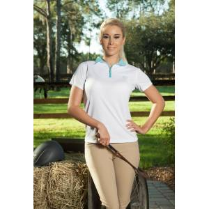 Devon Aire Short Sleeve Tech Top- Ladies