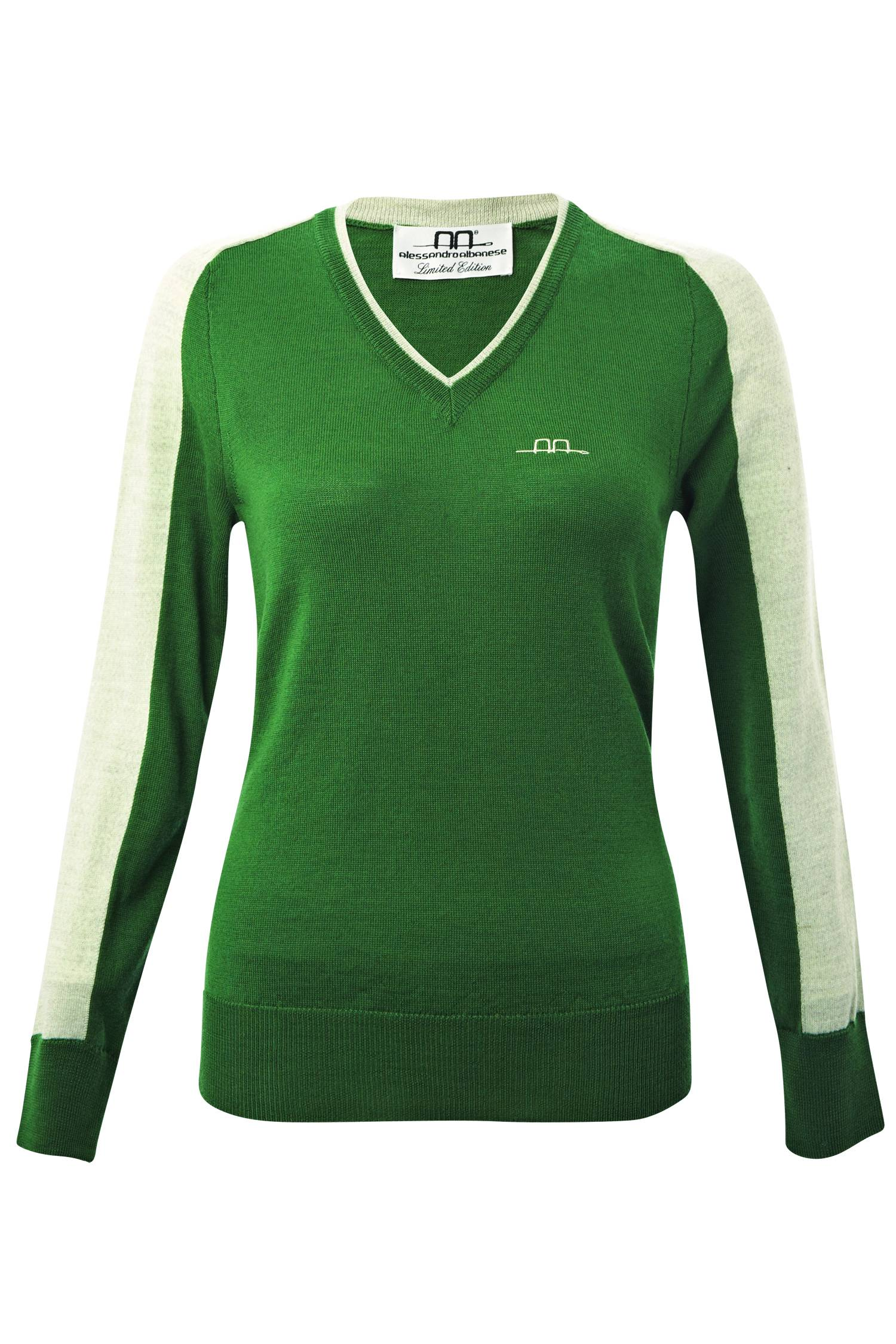 Alessandro Albanese Wien Ladies Knitted V Neck
