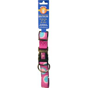 Ribbon Overlay Adjustable Dog Collar