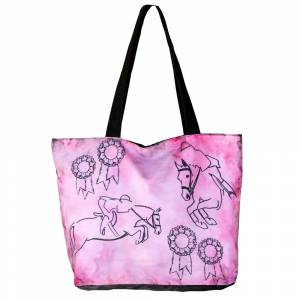 WOW Canvas Tote Bag - Jumping
