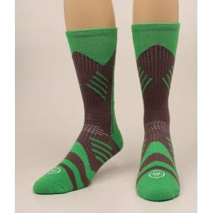 Ariat Performance Mid Calf Athletic Socks - Mens