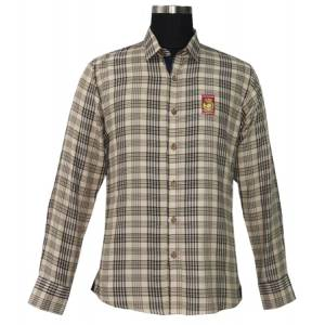 Tuffrider Baker Long Sleeve Show Shirt - Mens - Baker Plaid