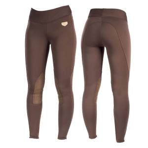 Horze Spirit Active Knee Patch Winter Tights - Ladies