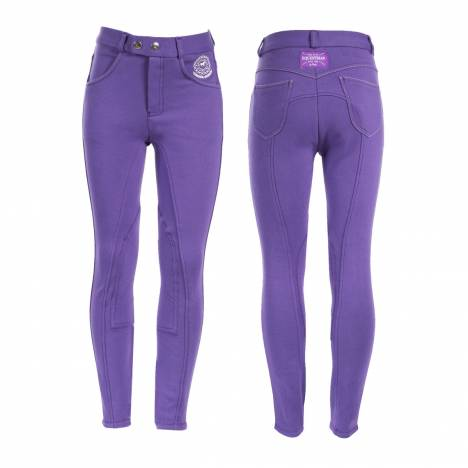 Horze Jen JR Knee Patch Breeches - Kids