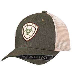 Ariat Mens Center Logo Mesh Back Hat