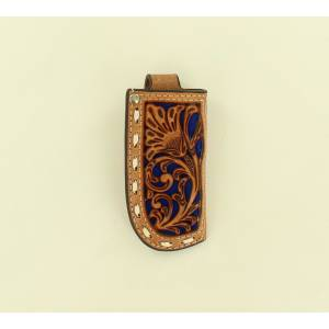 Nocona Buckstitch Pierced Pocket Knife Sheath