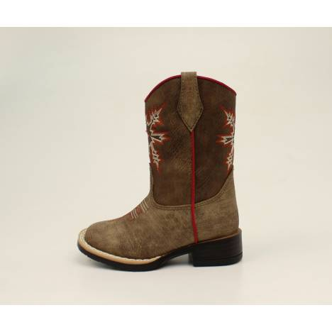 Dbl Barrel Toddler Boys Clay Western Boot
