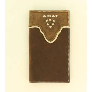Ariat Rodeo Overlay Pierced Logo Wallet
