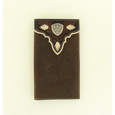 Ariat Rodeo Overlay Shield Concho Wallet