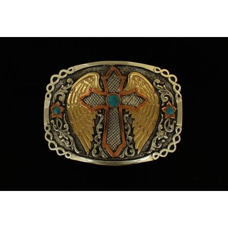 Crumrine Cross Wing Boxed Buckle