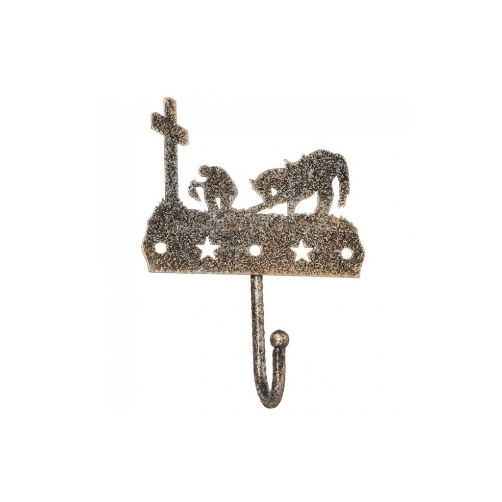 Tough 1 Equine Motif Glitter Finish Single Hook - Cowboy Prayer