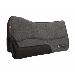 T3 Western Wool Felt Pad with Ortho-Impact 3/4
