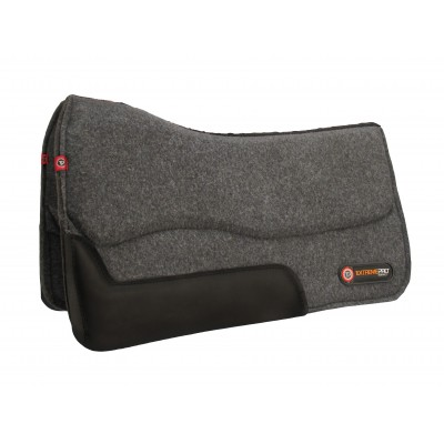T3 Western Wool Felt Pad with Extreme Pro 3/4