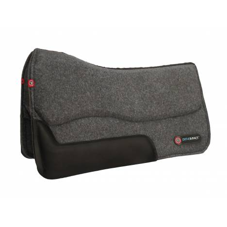 T3 Western Wool Felt Pad with Ortho-Impact 3/4""