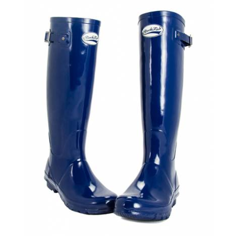 Rockfish Tall Gloss Wellington Boots- Ladies
