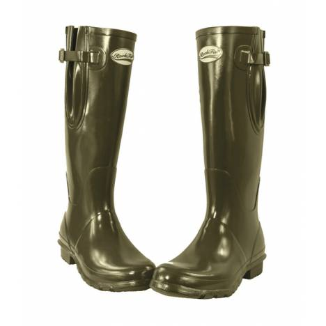 Rockfish Adjustable Gloss Wellington Boots- Ladies