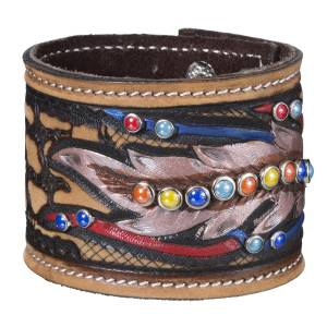 Tough-1 Naomi Collection Cuff Bracelet