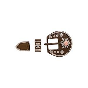 Partrade Antique Snow Flake Buckle Set