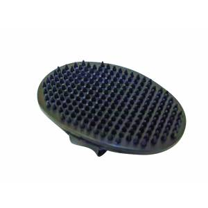 Partrade Rubber Facial Oval Curry Comb