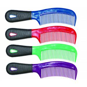 Partrade Rubber Grip Mane And Tail Comb