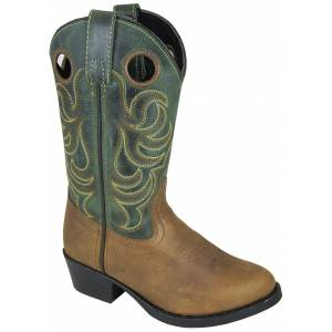 Smoky Mountain Henry Boots - Childrens - Brown