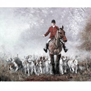 Malcom Coward Horse Prints - AM (Fox Hunting)