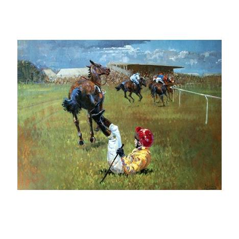 Malcom Coward Horse Prints - Parting is Such Sweet Sorrow (Horse