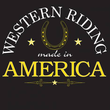 Sound Equine Western Riding Made In America Tee Shirt- Adult