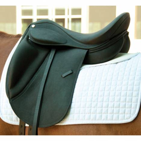 Intrepid Smooth Leather Dynamic Dressage Saddle
