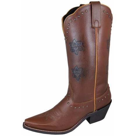 Smoky Mountain Lilac Boots - Ladies - Brown