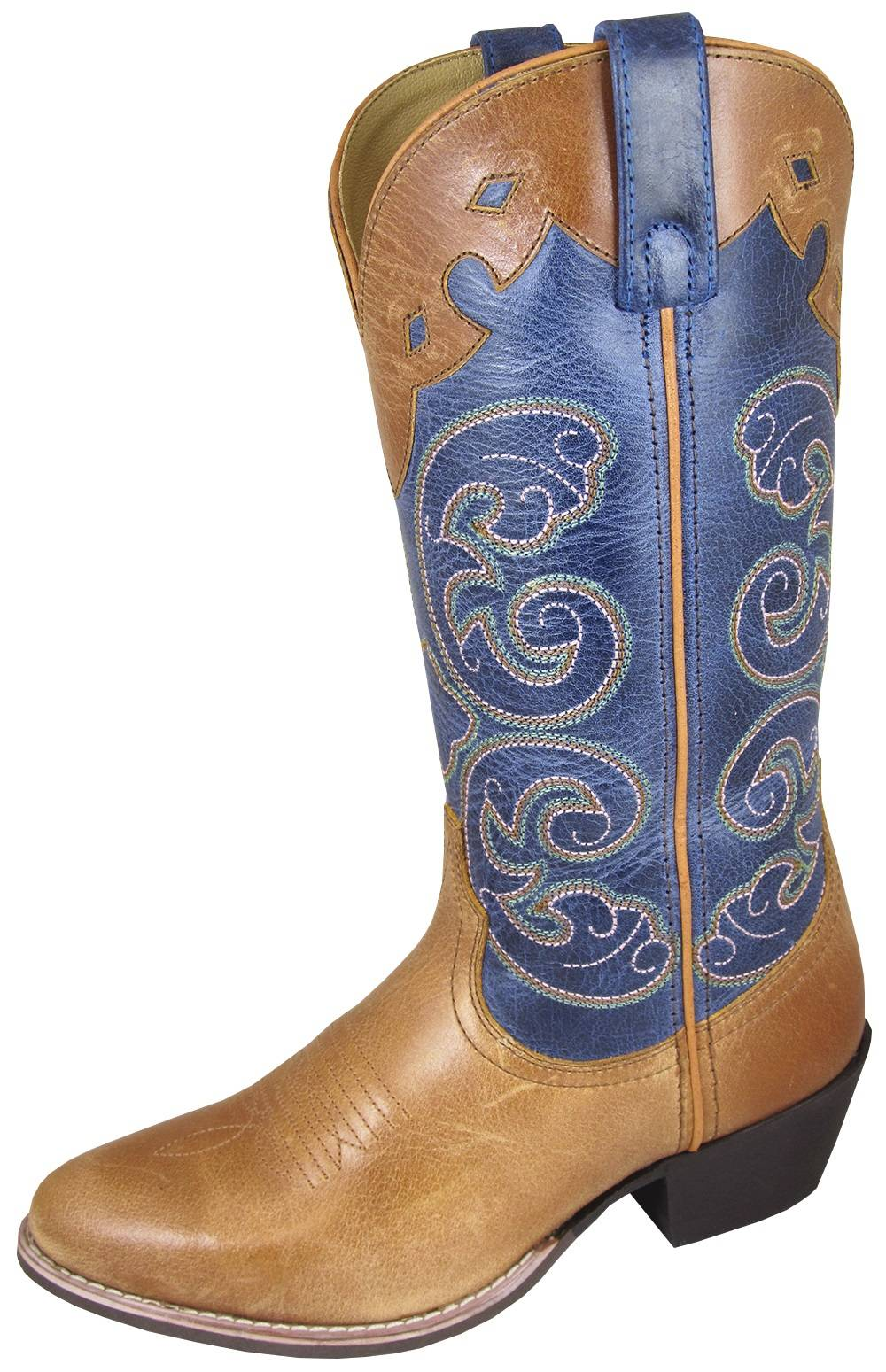 Smoky Mountain Apline Boots - Ladies - Tan/Blue