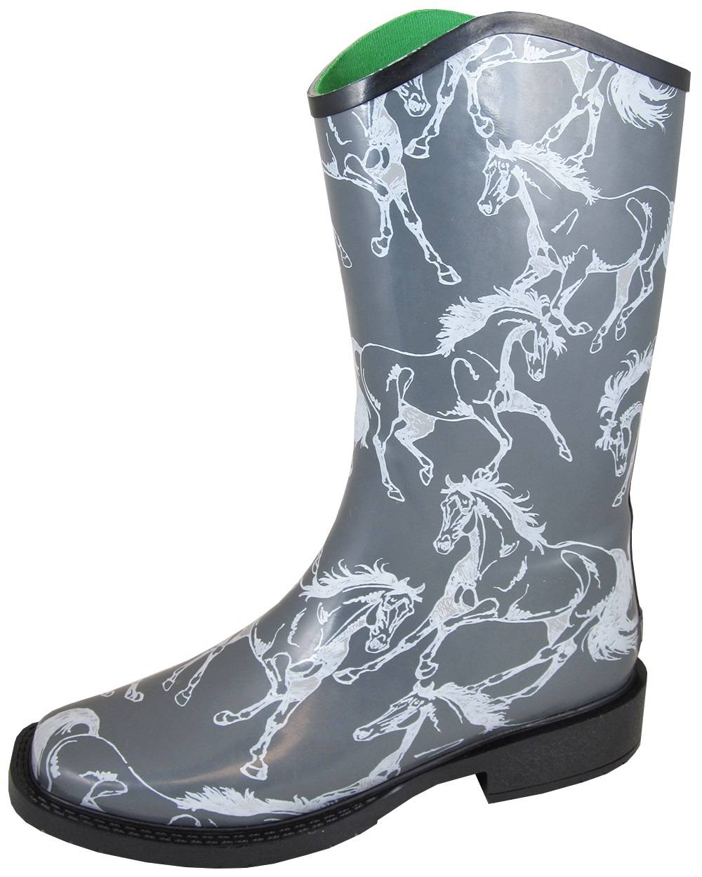 Smoky Mountain Ozark Boots - Ladies - Grey Horses