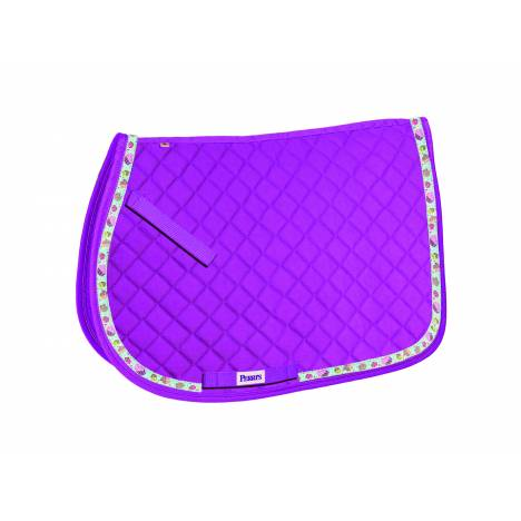 Perri's All Purpose Saddle Pad with Ribbon Trim - Cupcakes