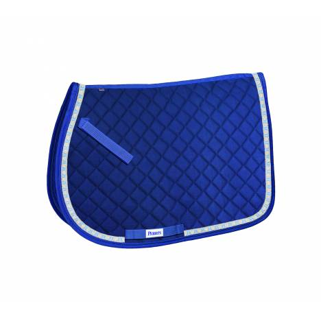 Perri's All Purpose Saddle Pad with Ribbon Trim - Ribbons