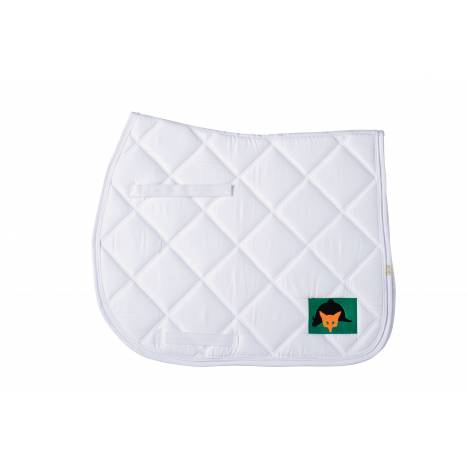 Lettia Embroidered All Purpose Pad - Fox Mask