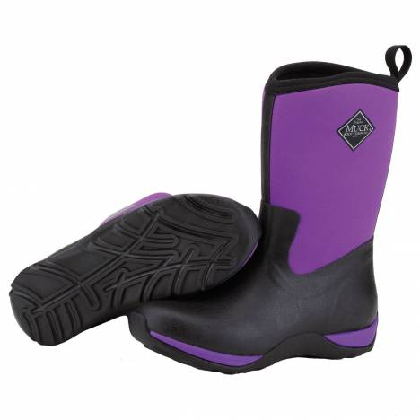 Muck Boots Arctic Weekend mid-height Boots - Ladies - Phlox Purple