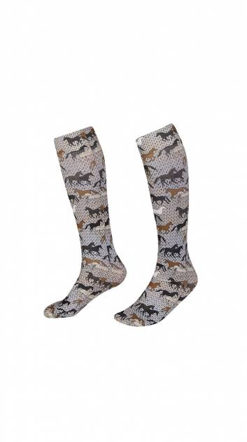 Kerrits Boot Sock - Ladies - Field of Horses