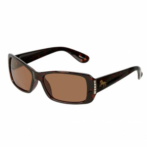 Cantering Horse Polarized Sunglasses - Ladies