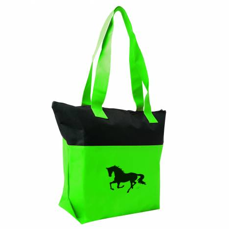 Lila Blakeslee Colorblock Horse Tote Bag - Ladies