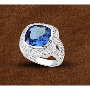 Kelly Herd Silver Contemporary Ring - Ladies