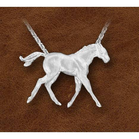 Kelly Herd Silver Colt Necklace - Ladies