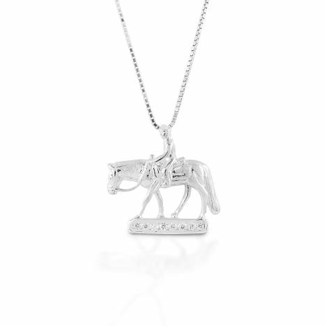 Kelly Herd Small Western Pleasure Horse - Sterling Silver