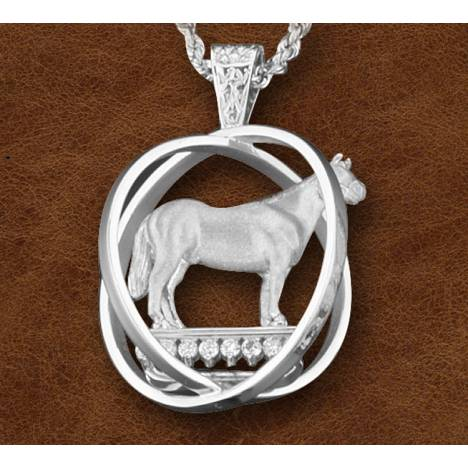 Kelly Herd Silver World Trophy Necklace - Ladies